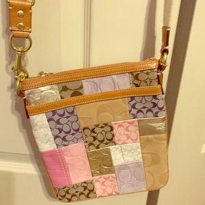Coach patchwork crossbody bag